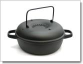南部鉄器 及源 みよちゃんの焼芋鍋 CA-36