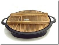 南部鉄器 岩鋳 すき焼き兼用餃子鍋