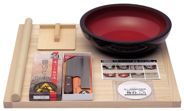 そば道具 普及型麺打ちセット A-1200 DVD